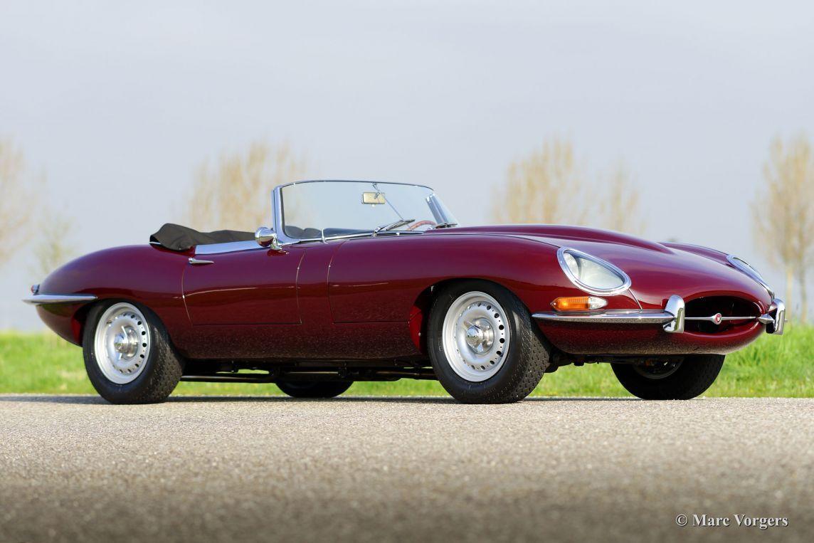 Jaguar Etype 3.8 Litre OTS, 1961 to