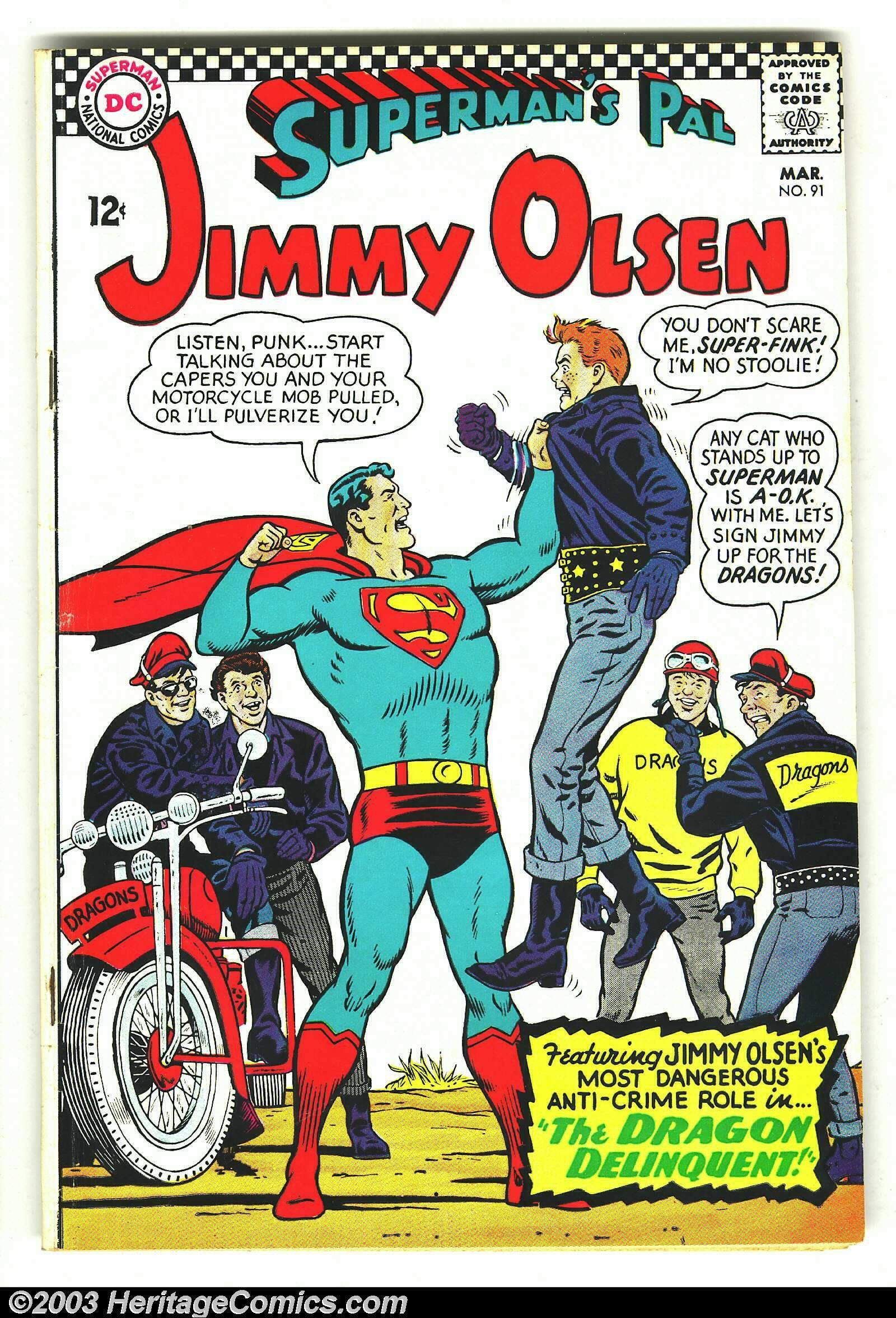 1960 - Before our comic book heroes\' values were replaced with ...