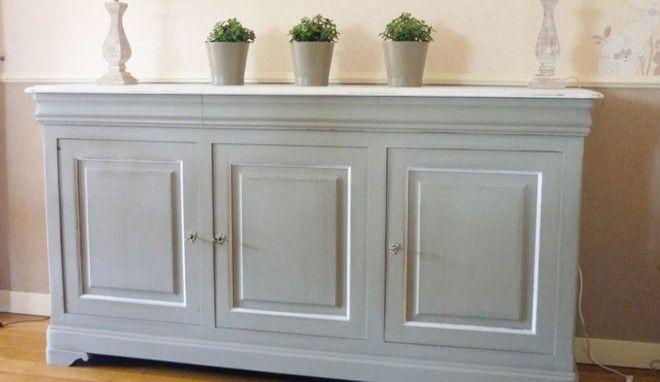 Comment peindre un meuble vernis ? - M6 Pinterest - Knutselen - Repeindre Un Meuble En Chene