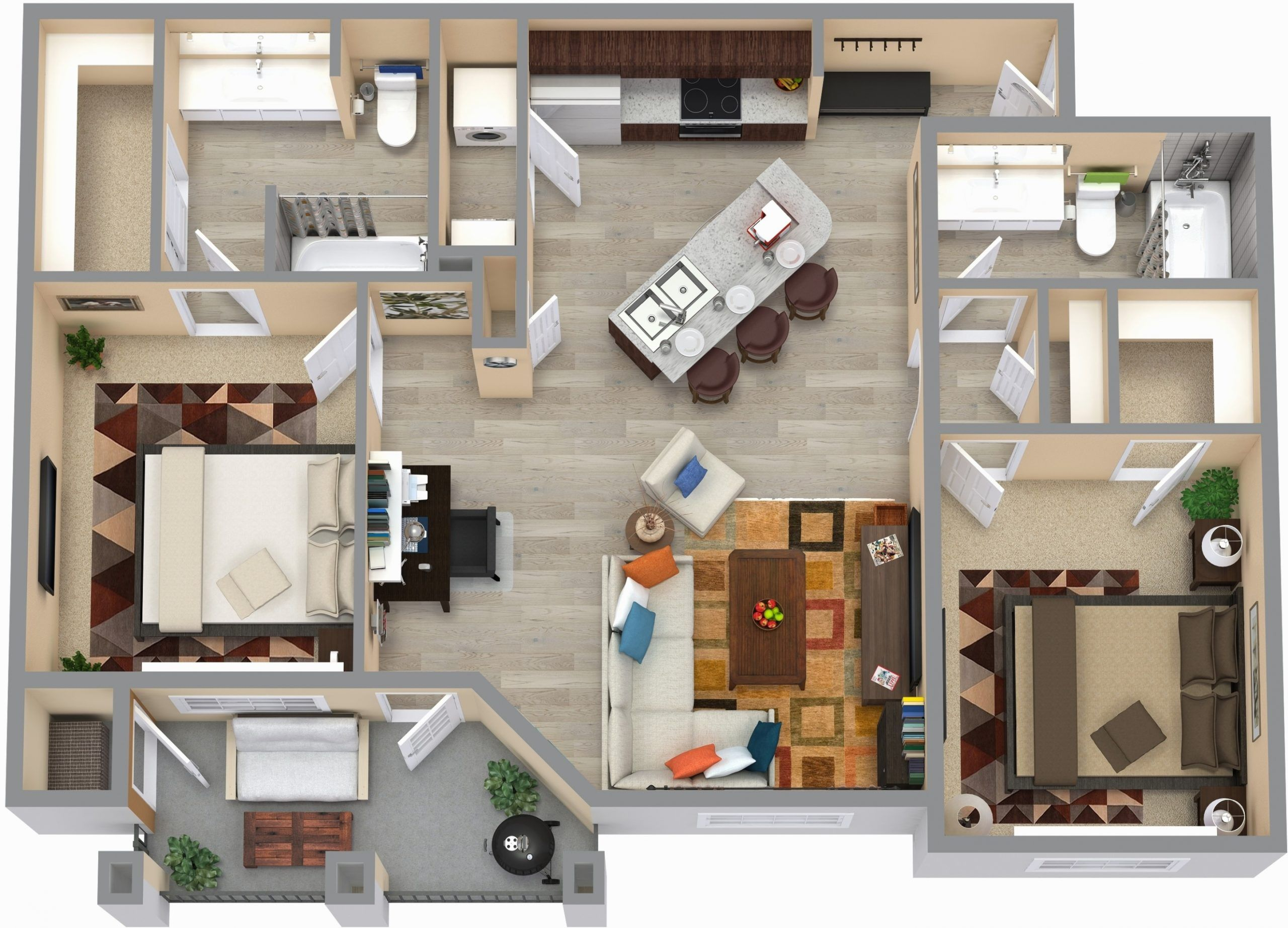 Seven Ways On How To Prepare For 8 Bedroom 8 Bathroom Apartments In 2020 Home Lottery Campus Apartment Student House