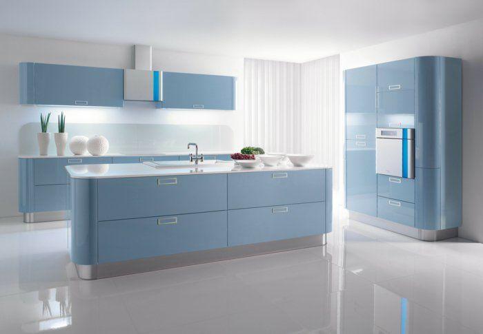 farbgestaltung küche kücheneinrichtung ideen küchenmöbel ...
