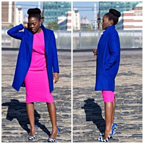 Addicted2etsy Blue And Pink Do Go Well Together To Think I Grabbed The Coat For Under 50 F21xme