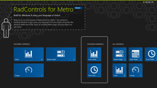 Telerik RadControls for Metro | Telerik | Windows 8, Windows