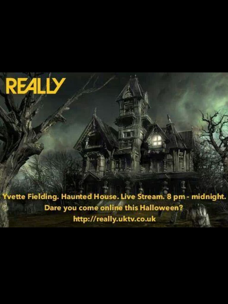 Most Haunted The Live Streaming With Really Tv 3 9 Million People Watched All Over The World On Halloween 31 10 2013 Scary Houses Creepy Houses Spooky House