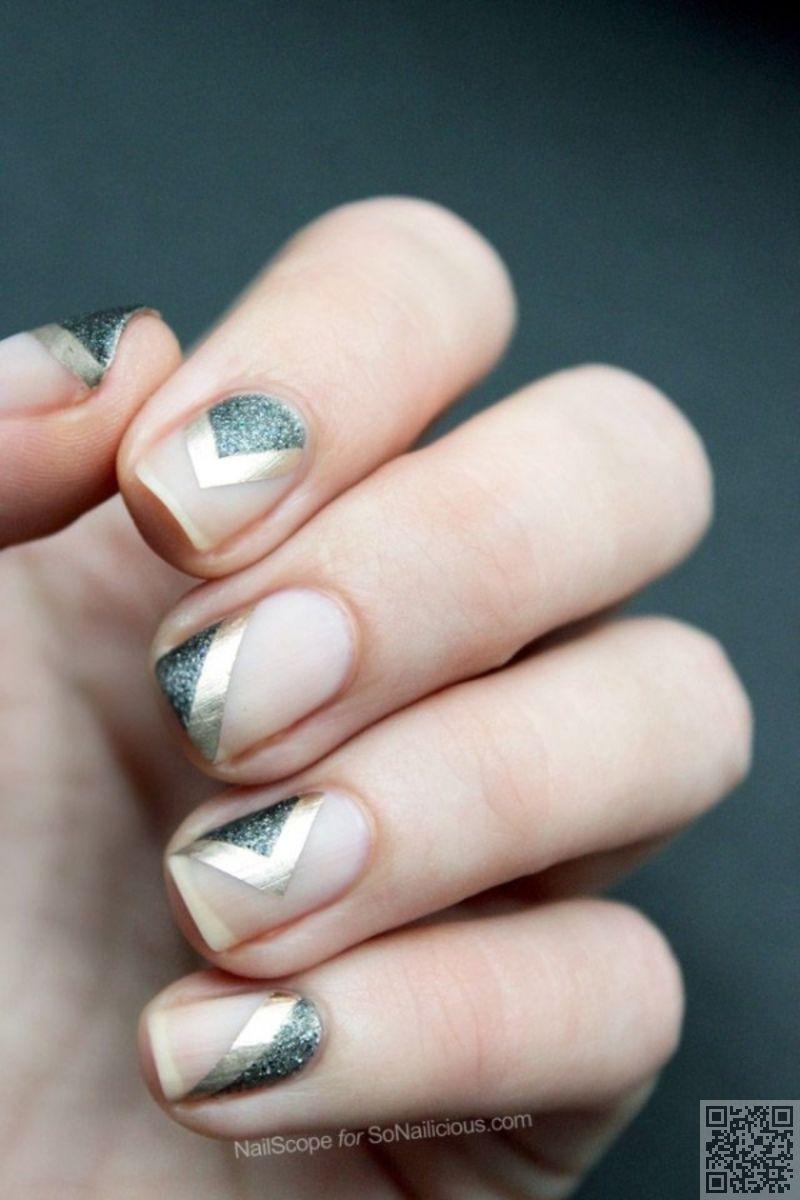 38 #Metallic Nail Art Ideas That Will Rock Your #World ... - ELLE ...