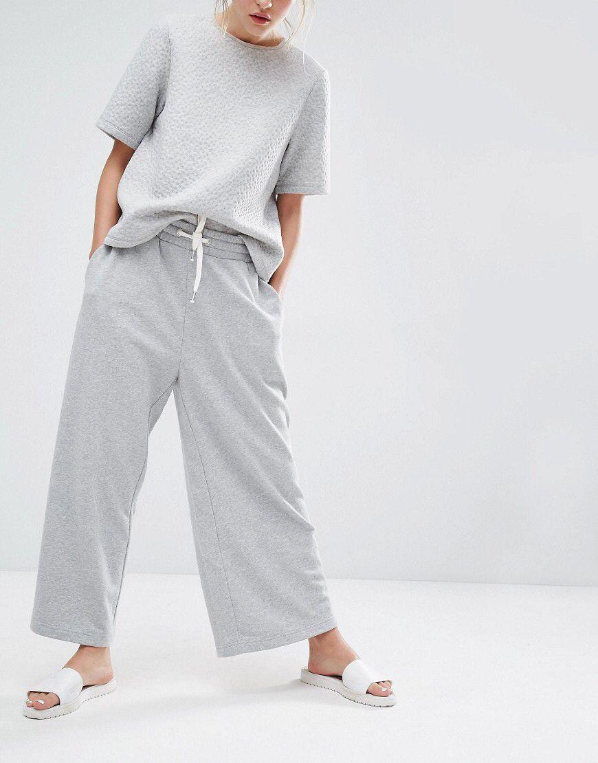 cfdd44c4c2 Monki Wide Leg Lounge Pant