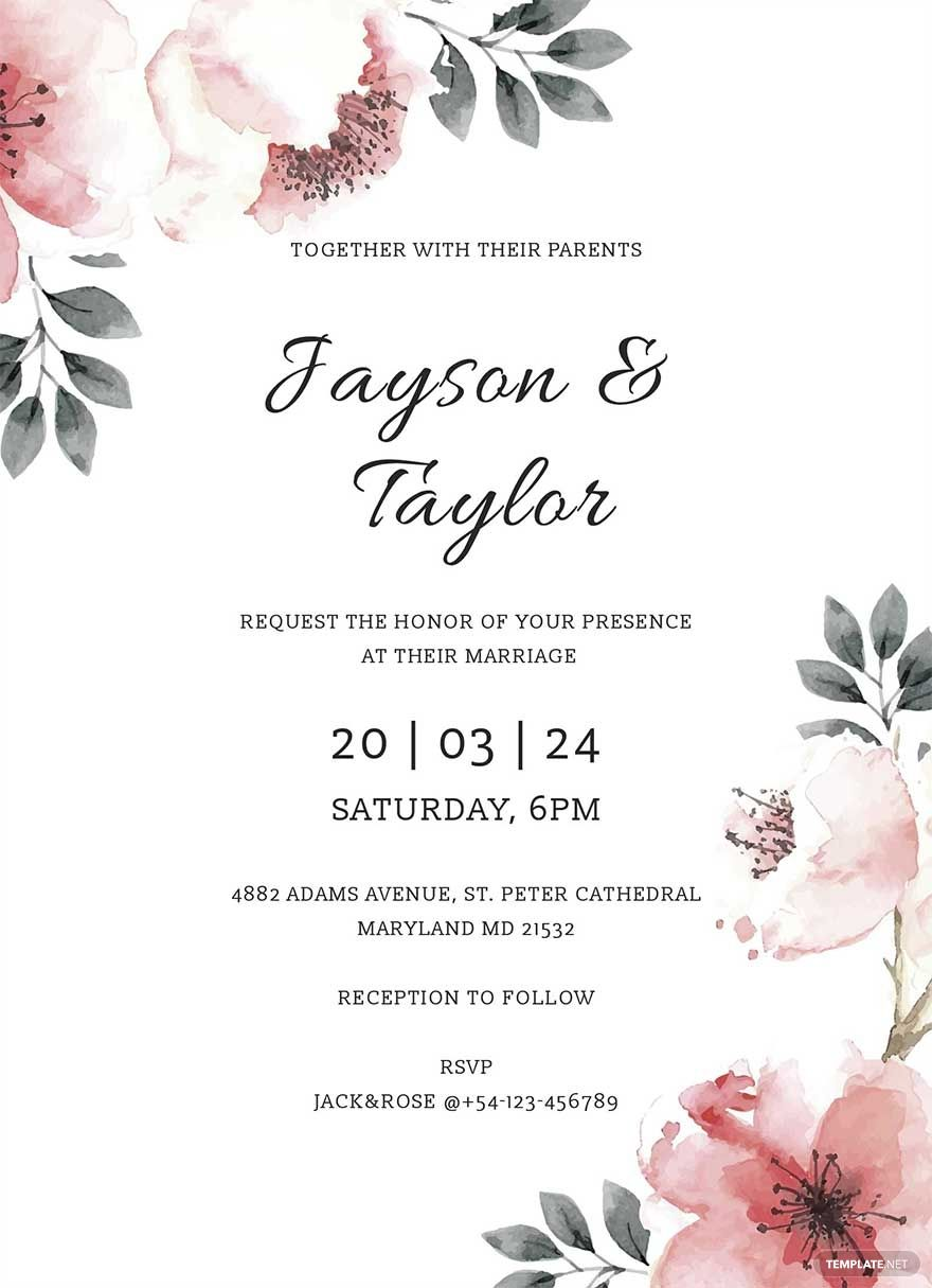 Free Vintage Wedding Invitation Template Word Doc Psd Indesign Apple Mac Pages Publisher Vintage Wedding Invitations Templates Vintage Wedding Invitations Vintage Wedding Cards Wedding invitation template word free