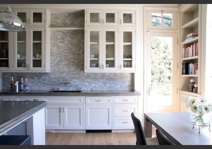 White Kitchen Backsplash Ideas kitchen back splash with white countertops | off white kitchen
