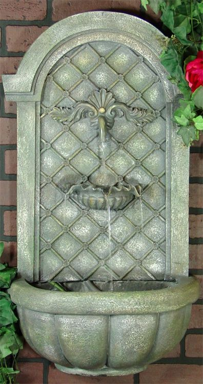 Outdoor Classics Verona Outdoor Wall Fountain