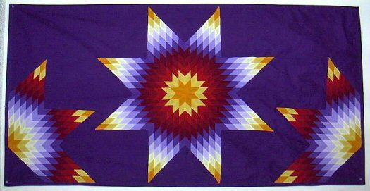 Dianes Native American Star Quilts Star Quilt Books Kits And