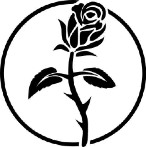 The Black Rose Is A Rarely Used Symbol Of The Anarchist Movement The Name Of The Pre Eminent Anarchist Booksto Black Rose Symbolism Black Rose Anarchist Tattoo