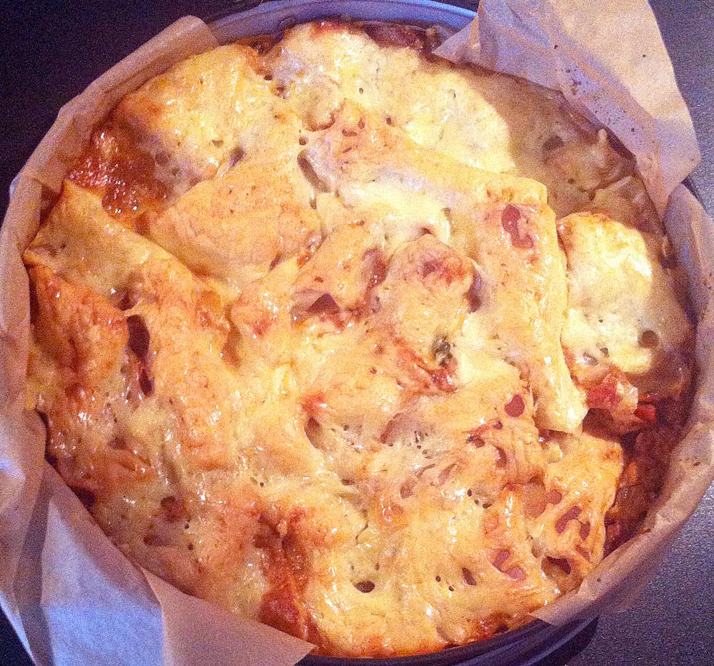 lasagne med sojafärs