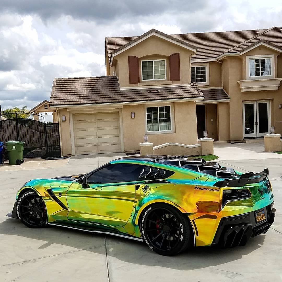 Goblinvette Isn T This The Best Looking Corvette Follow War Cars For More Chevrolet Corvette C7 Corvette Super Cars