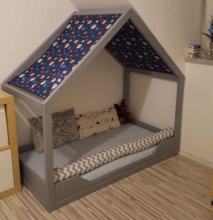 Hausbett / Bodenbett Bauanleitung zum selber bauen