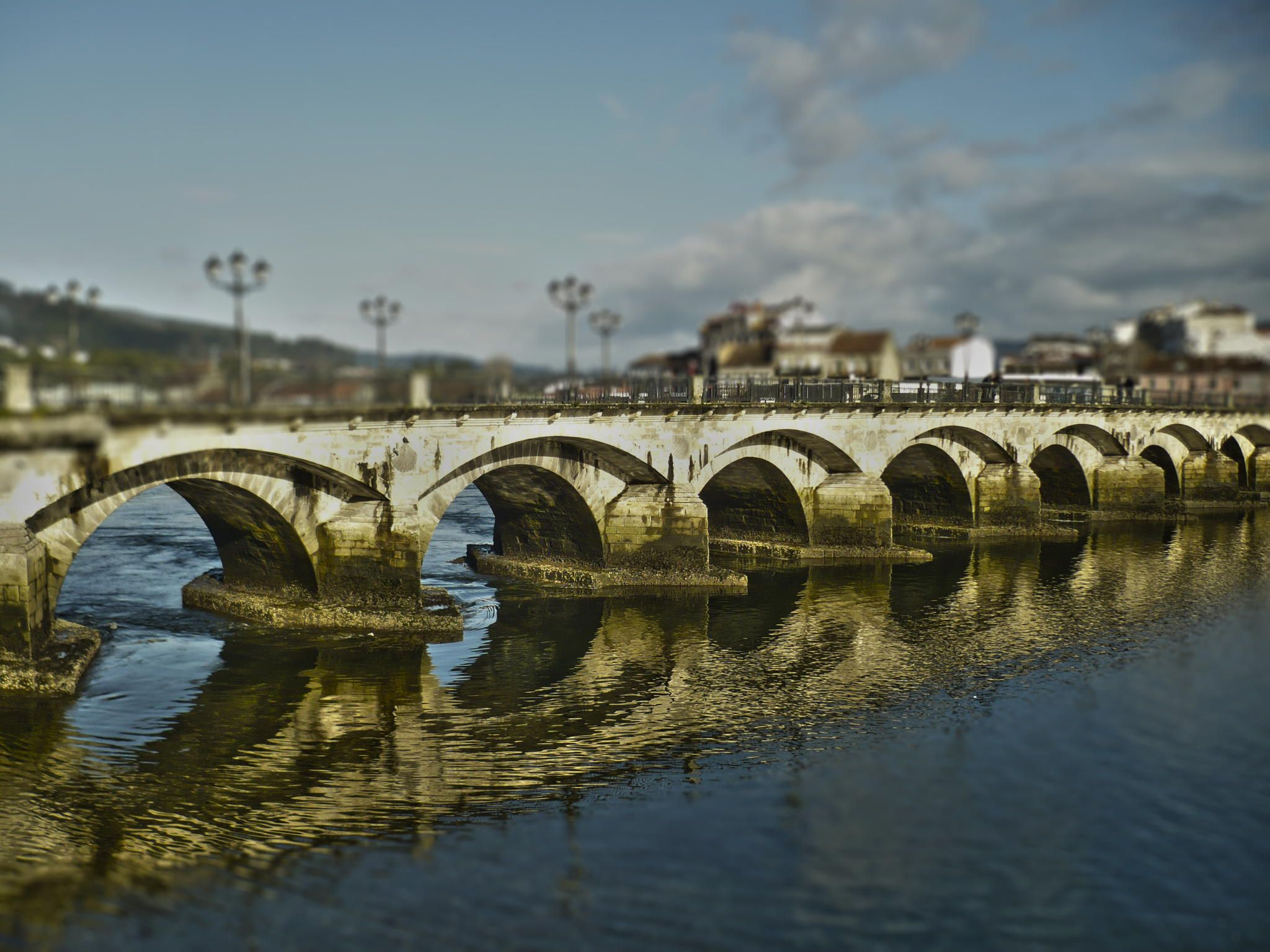 Ponte do Burgo by Esmeralda  Outes on 500px