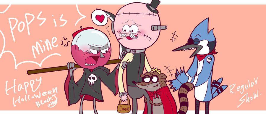 Halloween Regular Show By Wendy820602 On Deviantart Regular Show Pops Regular Show Regular Show Memes