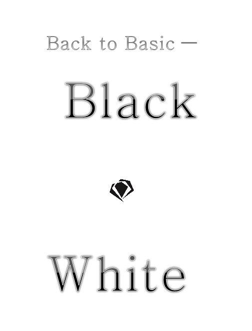 Black white timeless fashion diamonds quote
