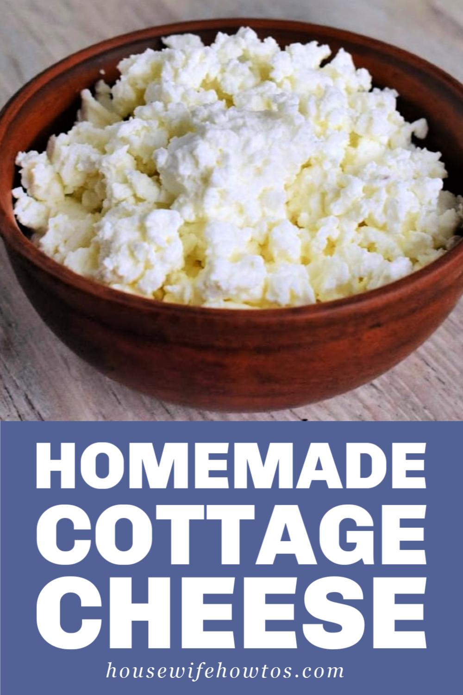 Homemade Cottage Cheese Recipe Homemade Cottage Cheese Cottage Cheese Recipes Food Recipes