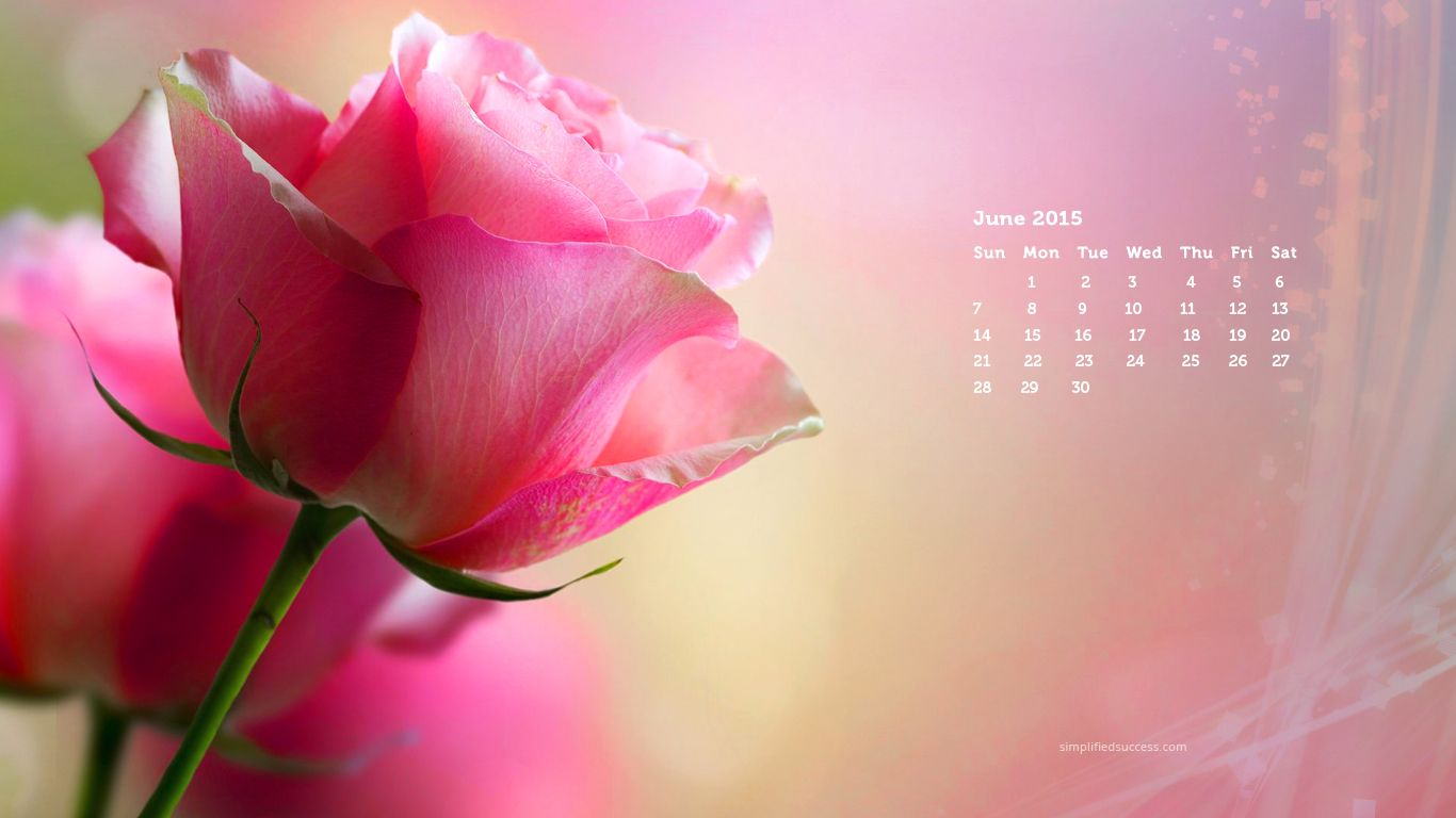 Calendar Wallpaper Windows : June desktop wallpaper backgrounds