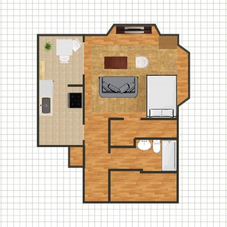5 Studio Apartment Layouts That Just Plain Work Apartment Layout Studio Apartment Layout Studio Apartment