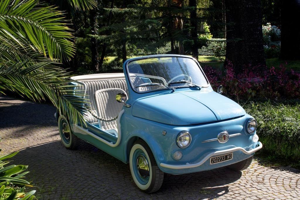 Hertz Italy Adds Fiat 500 Jolly Spiaggina Icon E By Garage