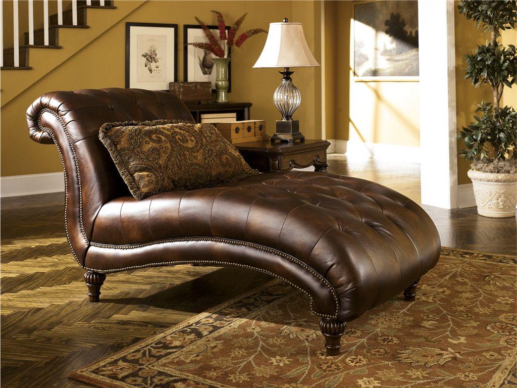 Signature Design Living Room Chaise 8430315