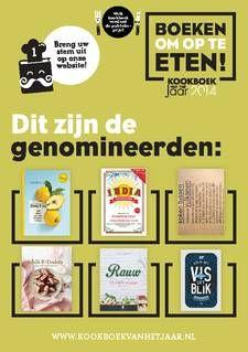 Genomineerden Verkiezing Kookboek van het jaar 2014