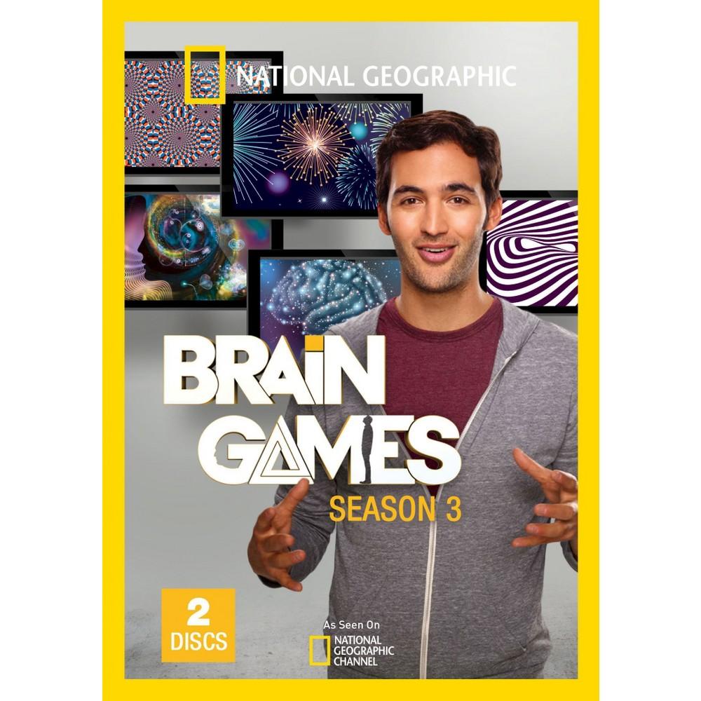 National Geographic: Brain Games - Season 3 [2 Discs]