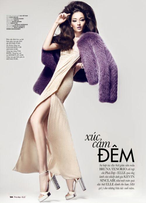 OhmyGod. The purple fur, the hair.