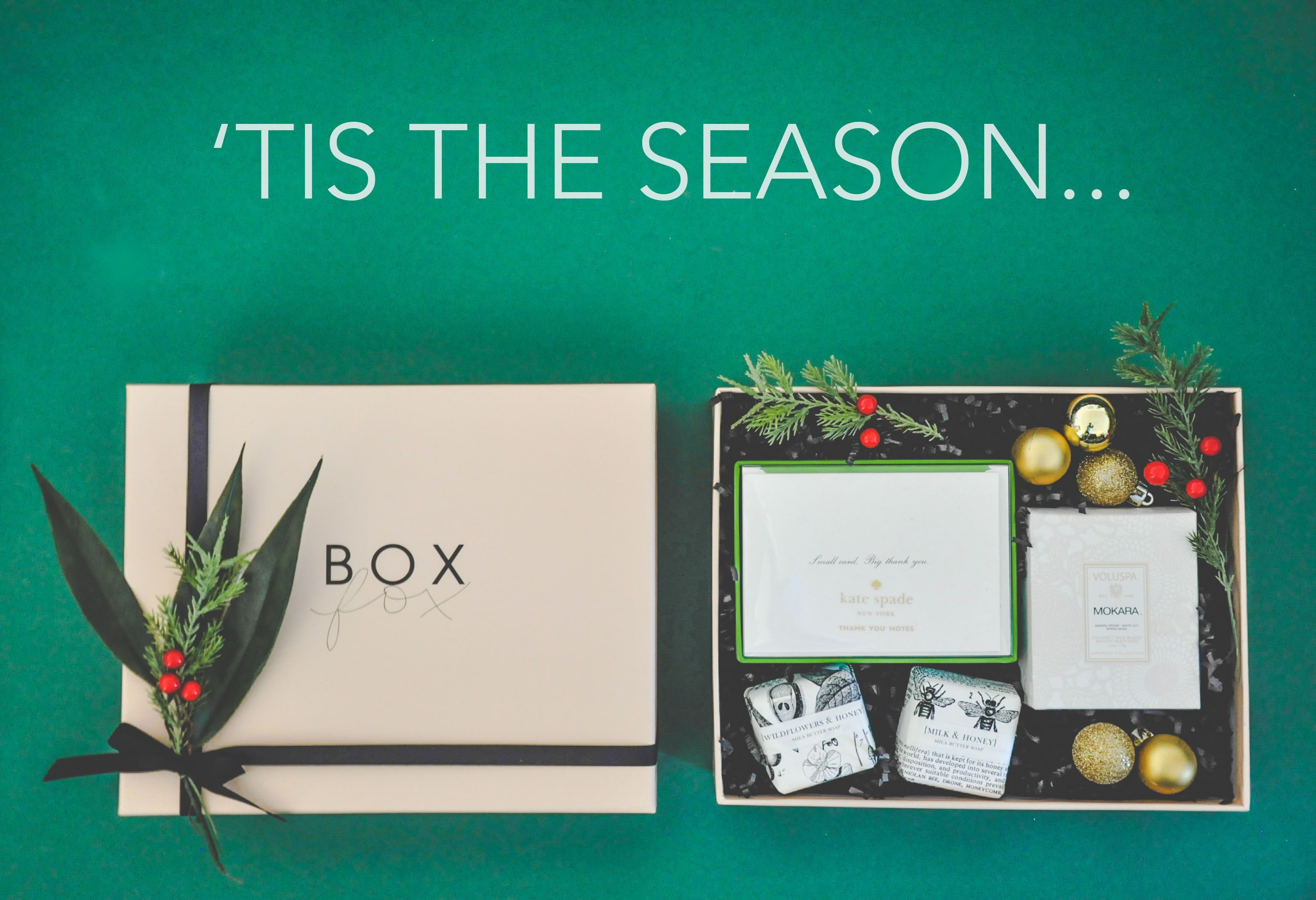 Shopping online for unique gifts? Check out brand new BOXFOX
