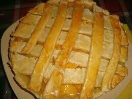 Mango pie.... Hawaiian style Thanksgiving.
