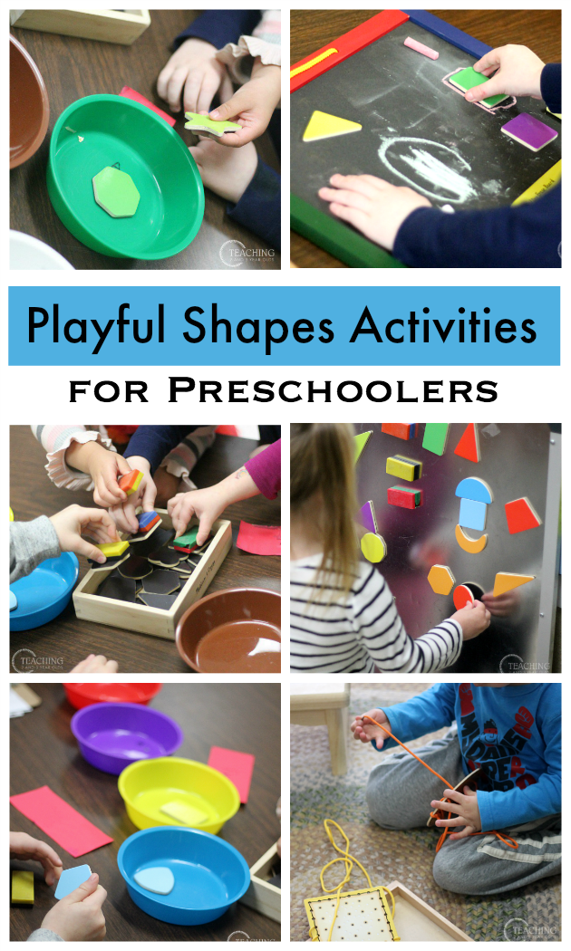 Learning Shapes in Preschool (Using Toys!) | Learning ...