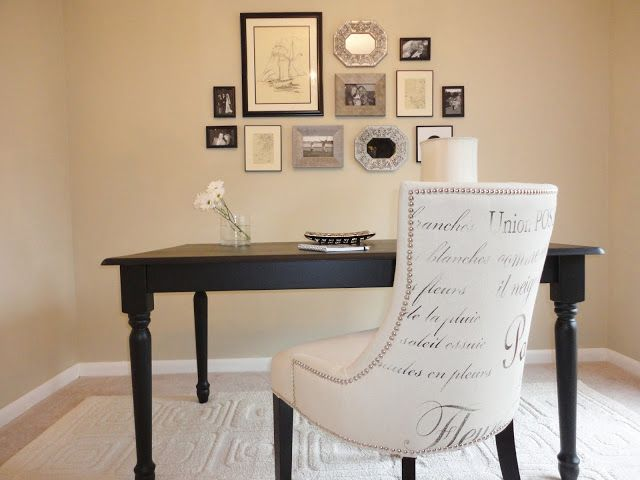 How To Hang a Gallery Wall The Stylish Office Budget Decorating