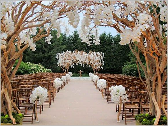 Wedding aisle decoration design ceremony ideas pinterest i like the arch if i were to have an outdoors ceremony wedding ceremony decoration ideas with 50 stunning wedding aisle designs junglespirit Images