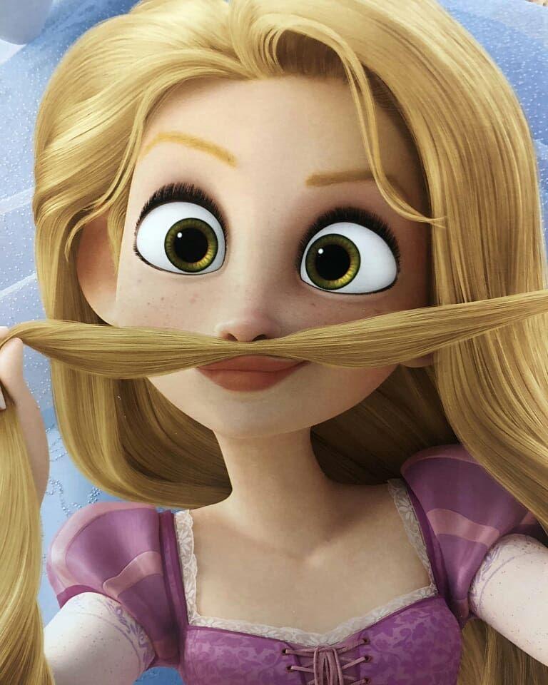 PUNZIE!!! #wreckitralph2 #ralphbreakstheinternet #rapunzel