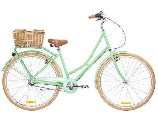 Reid Vintage Deluxe Ladies Traditional Bike Mint Green Hybrid