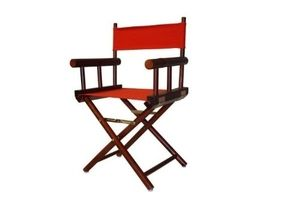 Foldable Bamboo Collection Mahogany Director Chair by Yu Shan 200-92