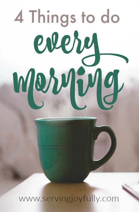 I'm a big believer in the power of mornings. How you start ...