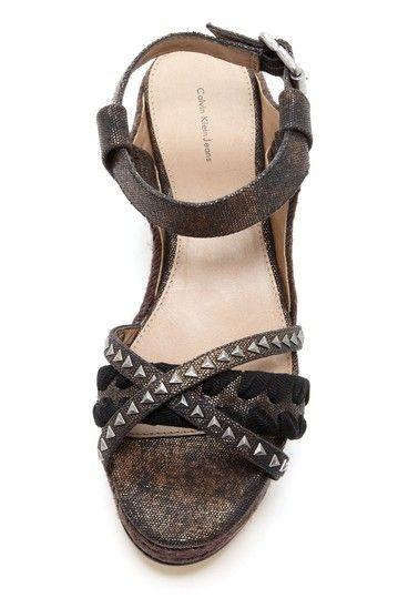 Nina Metallic Sandal