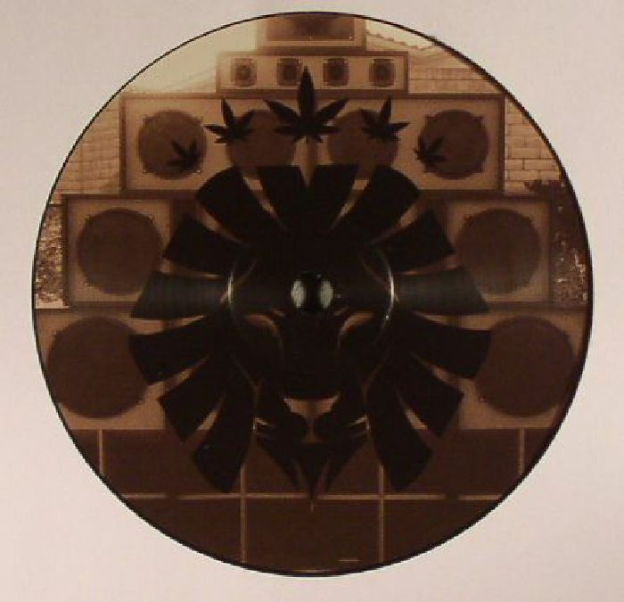 The artwork for the vinyl release of: Pixel - Get Mashup EP (Rasta Vibez) #music DrumAndBass