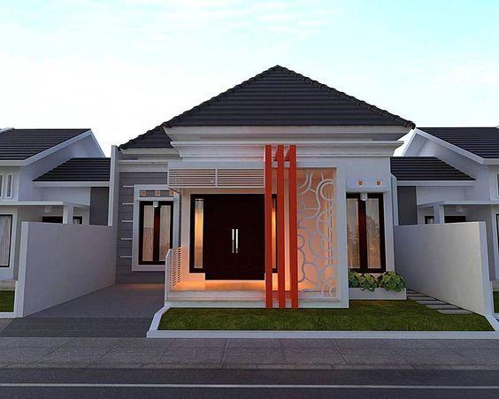 35 Warna Cat Rumah Desa Sisi Rumah Minimalis