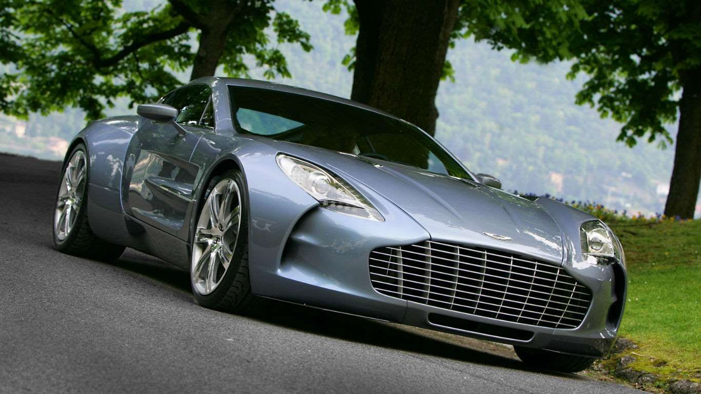 Price: £1,695,000 (used)With just 77 produced, the Aston Martin One-77 is one of the most exclusive ... - Aston Martin