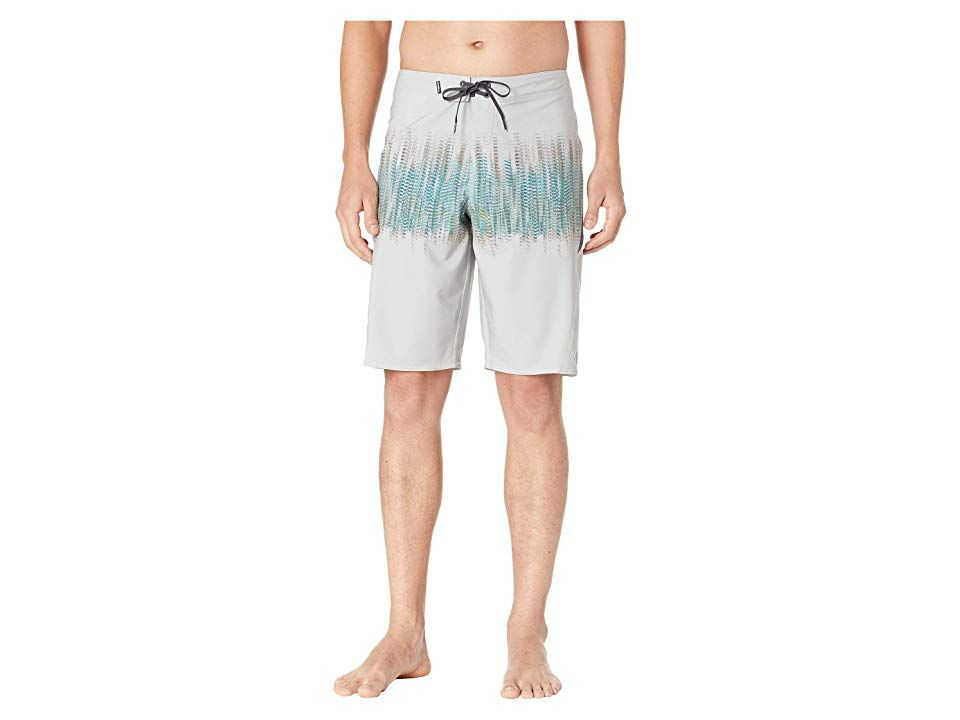 O'Neill Superfreak Morpheus Boardshorts (Fog) Men's Swimwear. The O'Neill Superfreak Morpheus Boardshorts are perfect from the shore to the boardwalk. Hyperfreak stretch features 140% vertical and 140% horizontal stretch. Hyperdry DWR (durable water repellent) finish for quick-dry performance. Anti-rash hyperthread construction reduces friction for rash reduction. Fitted waistband with surf-tie closure. Hidden-zip cargo pocket