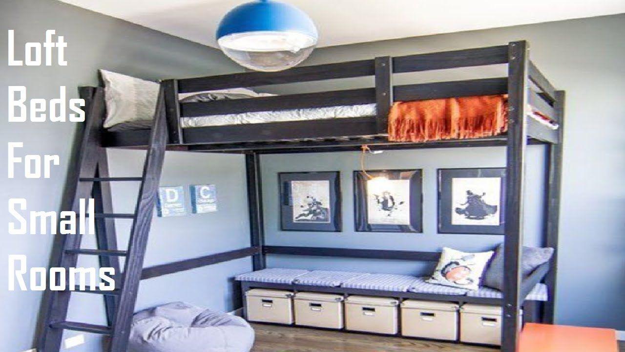26 Cool Loft Beds For Small Rooms Camas Muebles Espacio