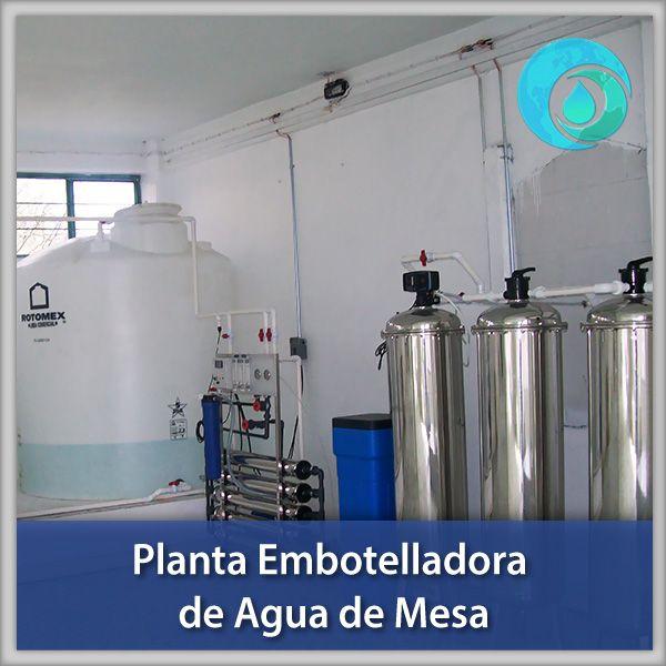 Planta Embotelladora De Agua De Mesa Embotelladora