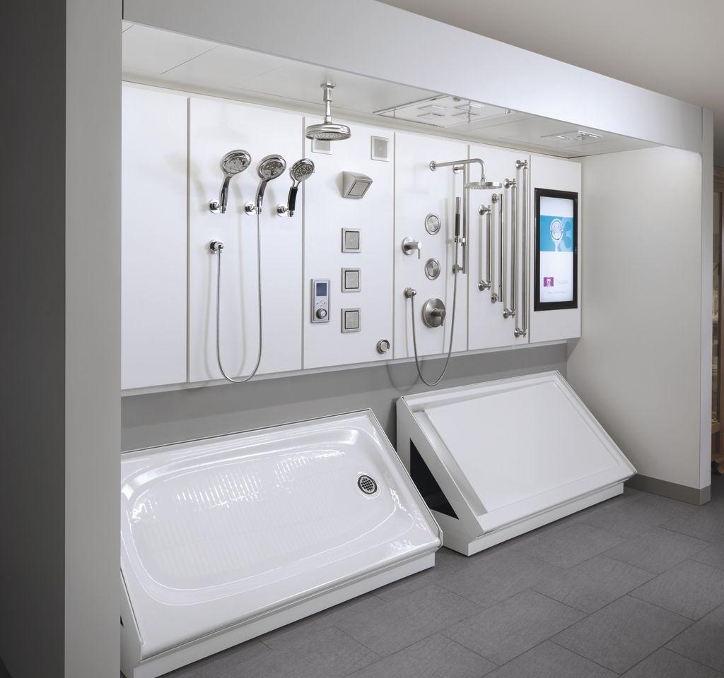 Good Idea For Bath Fixture Display Showroom Design Tile Showroom