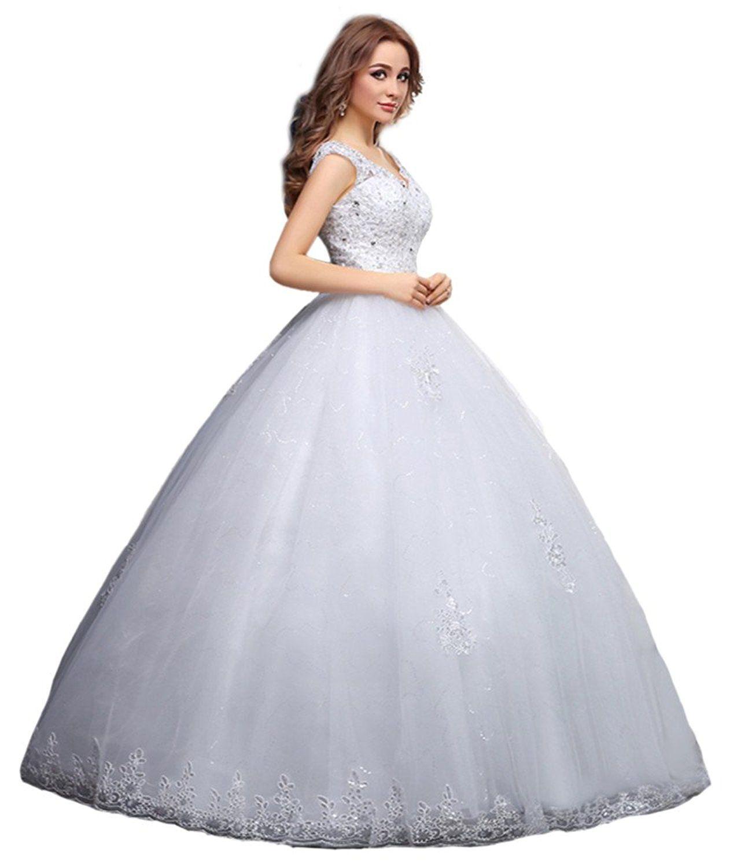 New bridal lace wedding lace word diamond set white dress continue