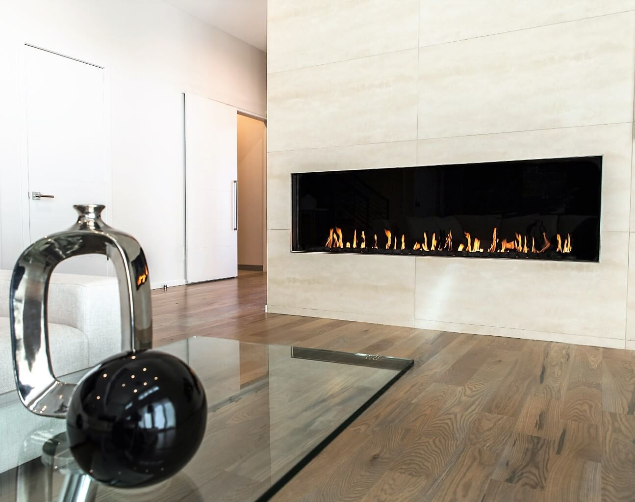 Flare Front 80 H High Glass Fireplace Modern Linear Fireplace  Flarefireplaces http Flare Front 80 H High Glass Fireplace Modern Linear Fireplace  . Modern Linear Fireplaces. Home Design Ideas