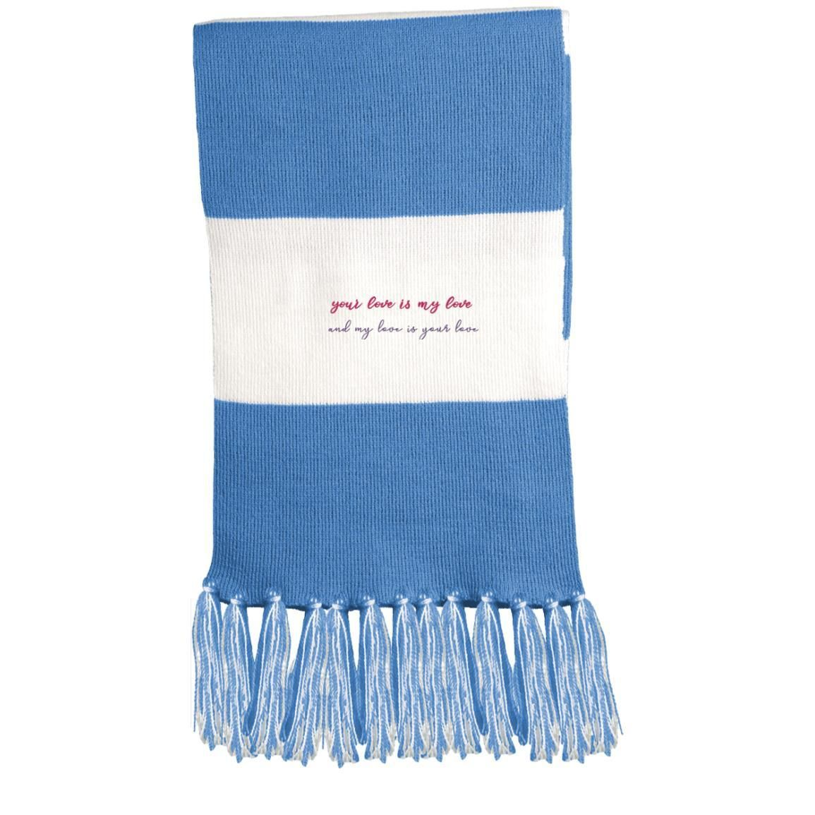 Your Love Is My Love Fringed Scarf