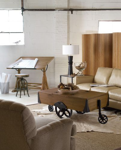 Envision Industrial Chic Furniture With A Retro And